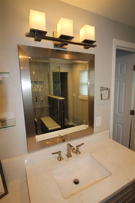 Dark Grey Master Bathroom ? Vista Remodeling