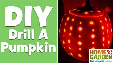 drill pumpkin templates how to drill a pumpkin in 30 seconds