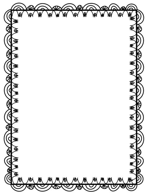 printable art borders microsoft clip art borders free clipart best