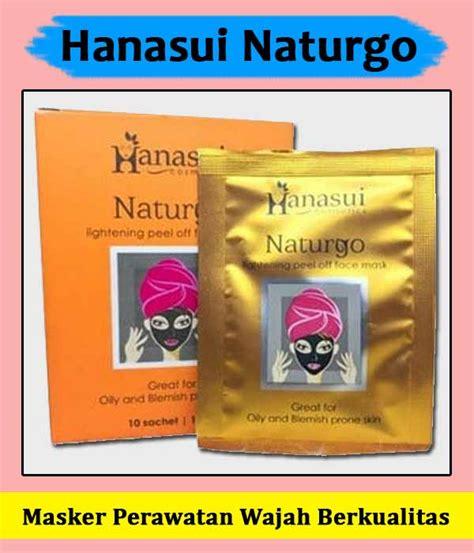 manfaat masker wajah naturgo  pakai efek samping