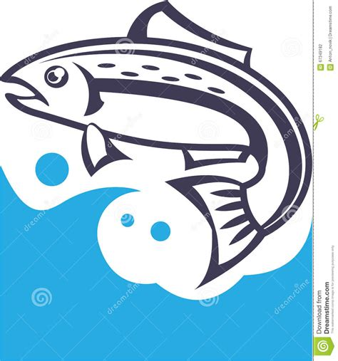 design vector logo illustrator fish logo design stock vector image 67349182