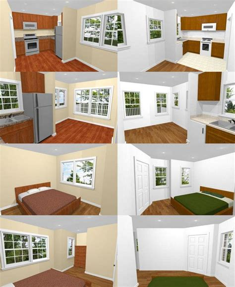16x16 tiny houses pdf floor plans 466 sq ft 463 sq 17 best images about projects to try on pinterest