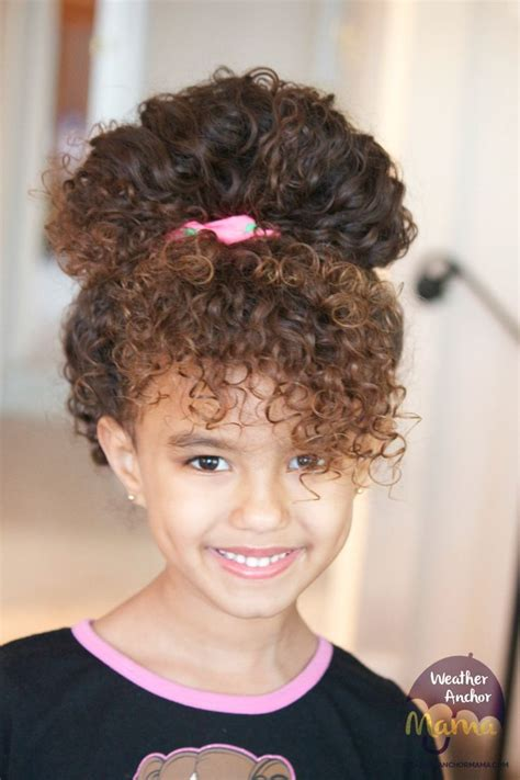 toddler updos for mixed hair 267 best images about naturally curly hairstyles on