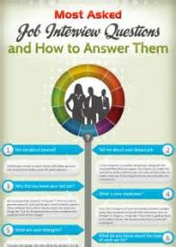 most asked questions and how to answer them