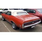 1969 Mercury Cougar XR 7 Rear Viewjpg  Wikimedia