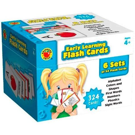 Baby Early Learning Card 1 Set brighter child early learning flash cards box set nacd store
