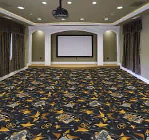 silver screen home theater carpet stargate cinema