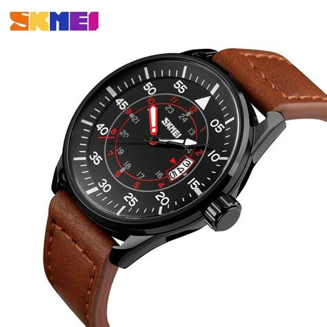 Skmei Jam Tangan Casual Analog Wanita Original Waterresistant skmei jam tangan analog pria 9113cl black brown jakartanotebook