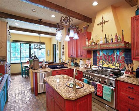Mexican Style Kitchen Decor by How To Decorate A Mexican Kitchen Best Home Decoration