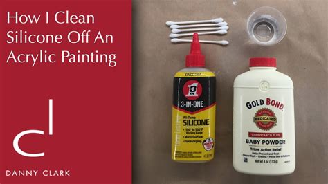 how to clean acrylic how i clean silicone off of an acrylic painting ep25 doovi