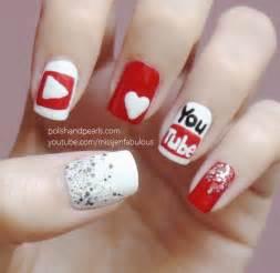 we love nail art youtube glitter nail polish