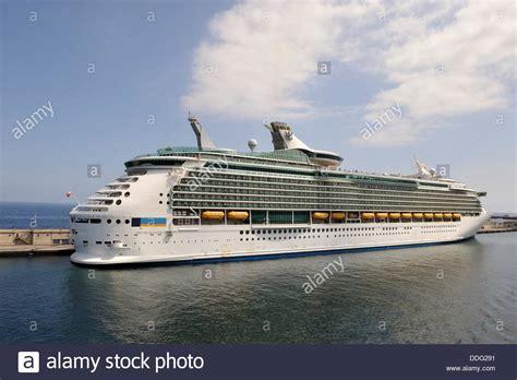 santa tenerife cruise port cruise ship docked in the port of santa de tenerife