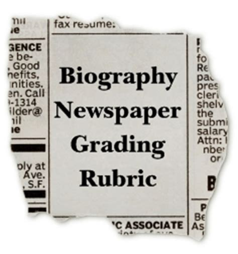 biography newspaper book report biography book report newspaper templates worksheets