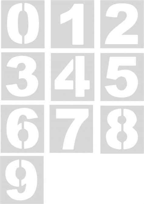 plantillas de numeros para imprimir m 225 s de 25 ideas fant 225 sticas sobre plantillas de numeros en