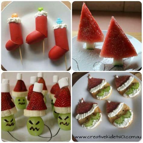 fun kids food ideas for christmas christmas pinterest