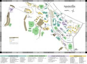 Ferris State Campus Map by Appalachian State University Campus Viewing Gallery