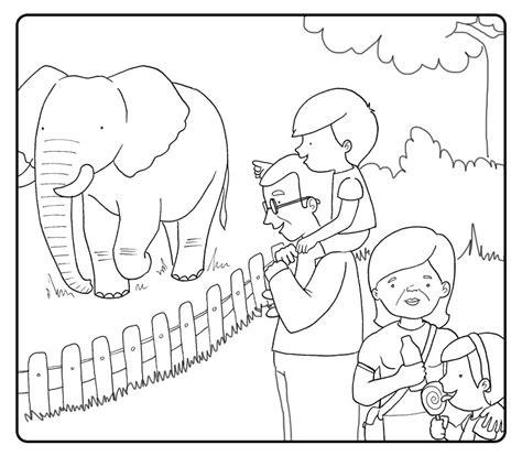 Dibujos Infantiles Zoologico | dibujos de animales del zoologico para colorear y cosas