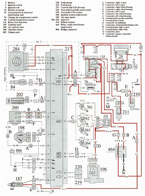 wiring diagram volvo 850 turbo 28 images volvo 850 ecc