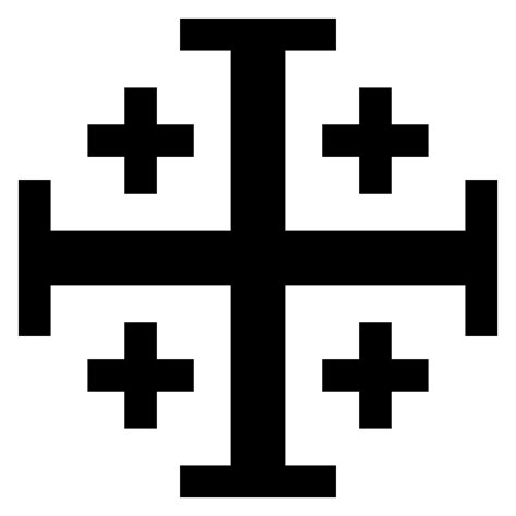 jerusalem cross wikipedia