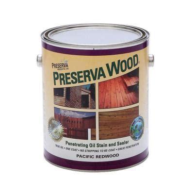 preserva wood  gal oil based pacific redwood penetrating