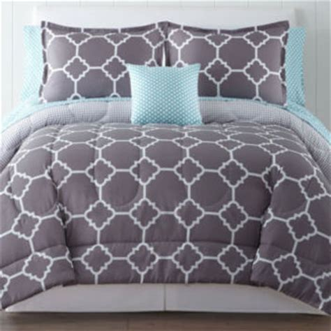 Jcpenney Bed Sheets by Home Expressions Tiles Complete Bedding From Jcpenney