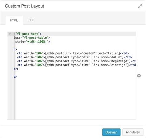custom layout manager uitextview making a simple to use events manager nieuwsmarkt
