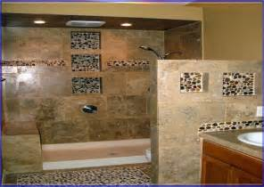 mosaic bathroom tile shower designs