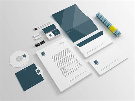 branding layout free download free stationery branding psd mockup free download psd
