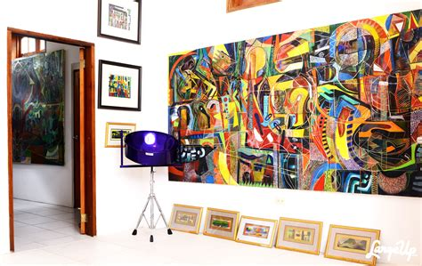biography artist leroy clarke visual culture at home with trinidad s master artist