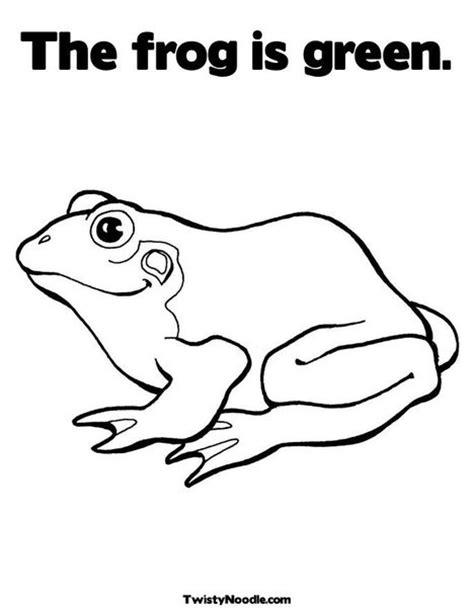frog template frog template school