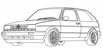 Coloriage Vw Polo Ancenscp