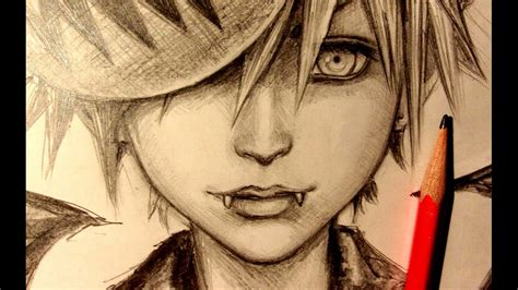 Drawing You Asmr by Asmr Pencil Drawing 40 Kingdom Hearts Request