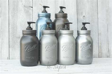 rust oleum metallic spray paints ka styles jars diy