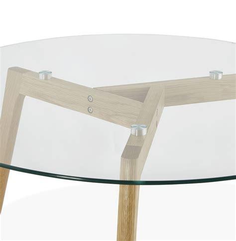 table basse ronde en verre design table basse de salon ronde glazy en verre table design