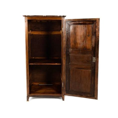 Armoire Small by Small Vintage Armoire With Carved Period Door For