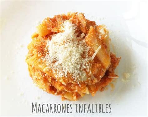 cocinar macarrones con atun receta de macarrones con at 250 n infalible 171 cocinar para ni 241 os