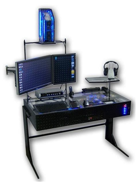 Build Custom Computer Desk Woodwork Build A Computer Desk Plans Pdf Plans