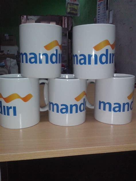 Mug Kaca Printing jasa cetak mug murah pusat cetak sablon merchandise