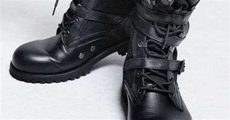 Sepatu Boots Rockers tactical boots hardcoreboots edgy and right rocking awesome