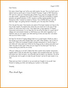 letter to parents template 4 introduction letter to parents template