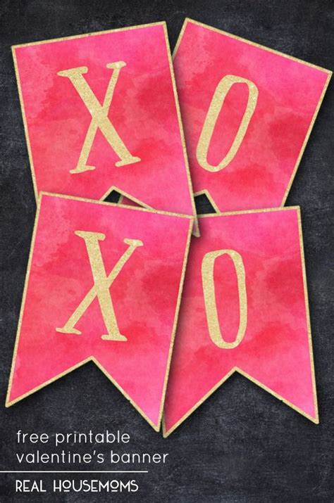 xoxo printable banner 213 best images about banners buntings garland ideas on
