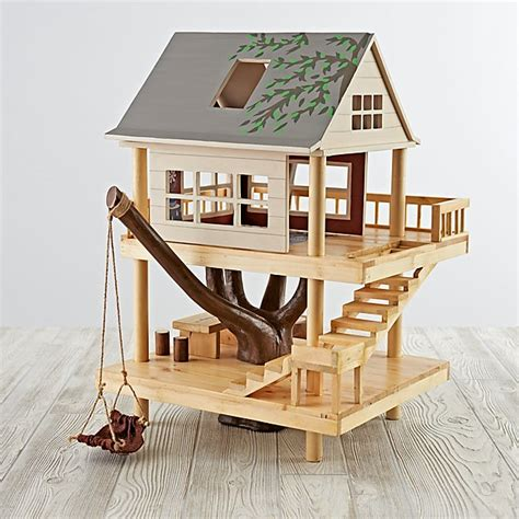 plan toys tree house treehouse play set the land of nod