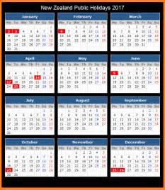 Calendar 2018 Nz Printable Calendar 2017 Nz Calendar 2017 Printable