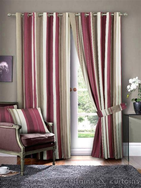tan and red curtains 1000 ideas about striped curtains on pinterest curtains