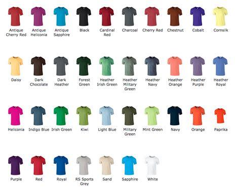 Gildan Ikeh Ikeh gildan softstyle colors 28 images gildan soft style t