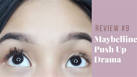 Maybelline Indonesia review 9 maybelline push up drama mascara indonesia