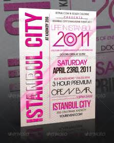 event flyer templates istanbul city event flyer template club fliers