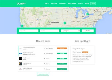 themeforest job board 14 best wordpress job board themes 2016