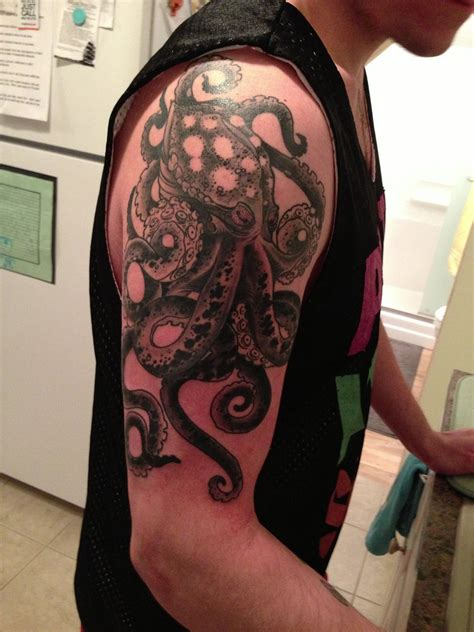 octopus sleeve tattoo best tattoo design ideas