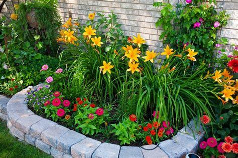 piccole aiuole da giardino aiuole per giardino tante composizioni piene di colori